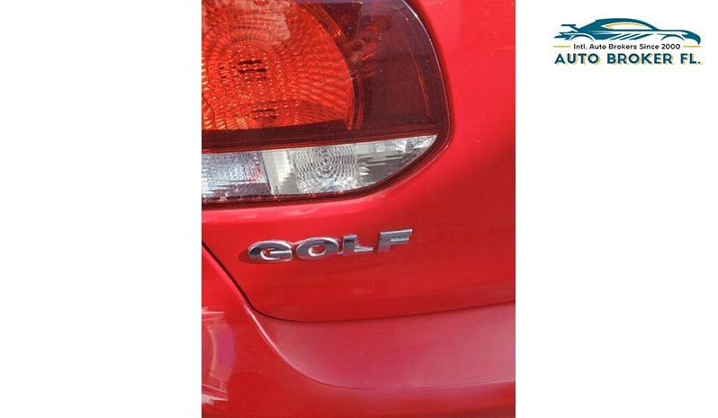 2012 Volkswagen Golf full